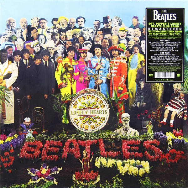 BEATLES BEATLES - SGT PEPPER LONELY HEARTS CLUB BAND (180 GR) a woman kneeling in the big city