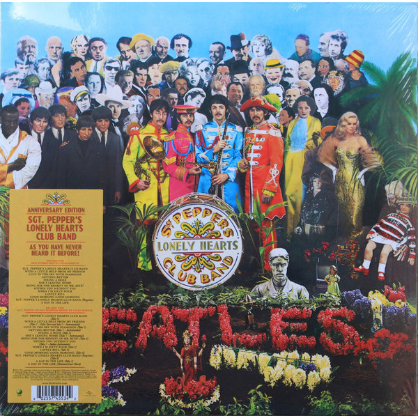 BEATLES BEATLES - SGT. PEPPER'S LONELY HEARTS CLUB BAND (2 LP) the beatles sgt pepper s lonely hearts club band lp