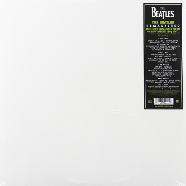 BEATLES BEATLES - THE BEATLES (THE WHITE ALBUM) (2 LP, 180 GR) the early beatles the u s album cd