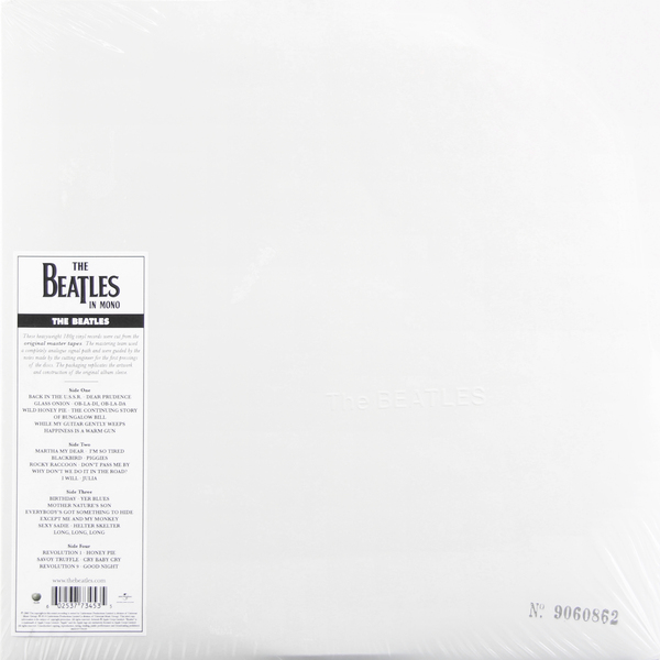 Beatles Beatles - White Album (mono) beatles beatles anthology 3 3 lp