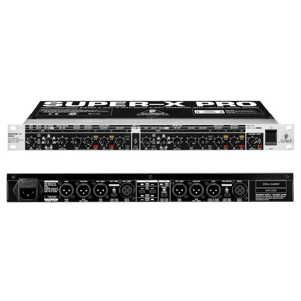 Контроллер/Аудиопроцессор Behringer