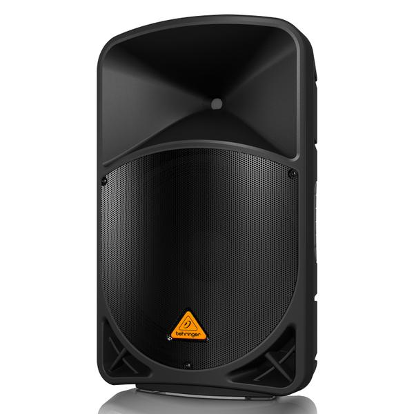 Профессиональная активная акустика BehringerПрофессиональная активная акустика<br>2-полос.активная акуст.система,1 х 15 , Bluetooth, встроен.2-кан.микшер, 1000ВТ<br>
