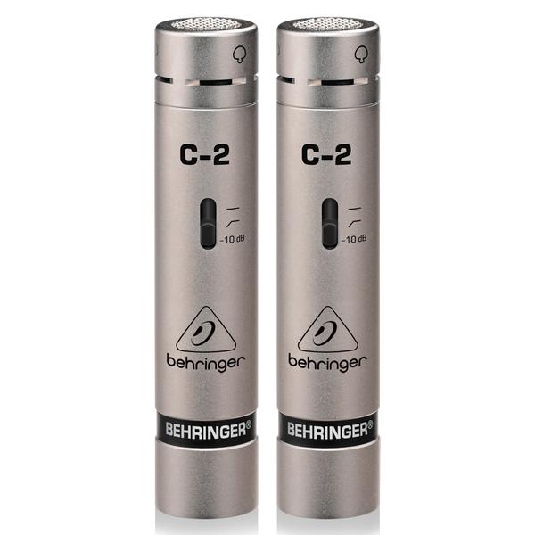 Студийный микрофон Behringer C-2 STUDIO CONDENSER MICROPHONES behringer behringer q802usb 2