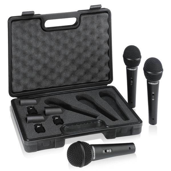 Вокальный микрофон Behringer ULTRAVOICE XM1800S 3-PACK
