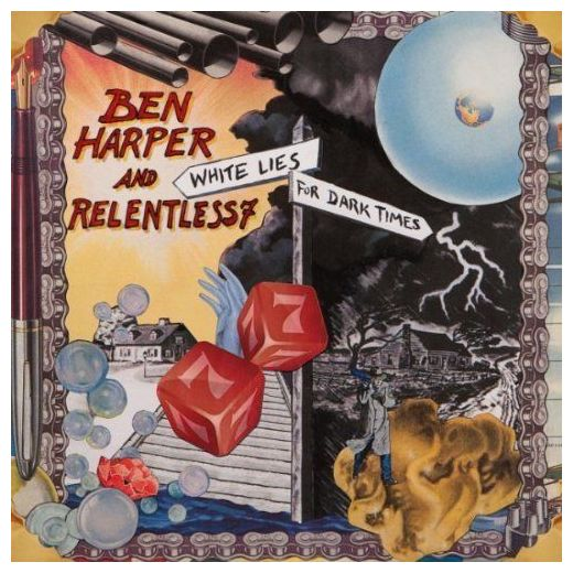 BEN HARPER BEN HARPER - WHITE LIES FOR DARK TIMES (2 LP)