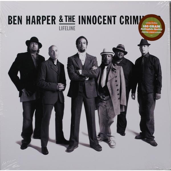 BEN HARPER BEN HARPER-LIFE LINE (180 GR)Виниловая пластинка<br><br>