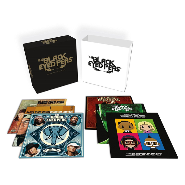 Black Eyed Peas Black Eyed Peas - Complete Vinyl Collection (12 LP) the black eyed peas the black eyed peas the beginning 2 lp