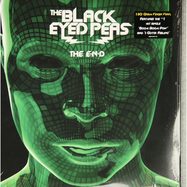 BLACK EYED PEAS BLACK EYED PEAS-THE E.N.D. (2 LP, 180 GR)