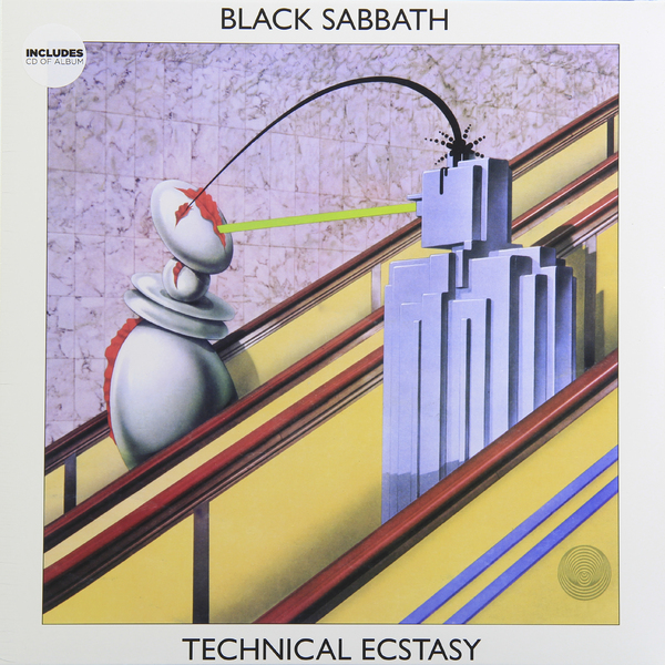 Black Sabbath Black Sabbath - Technical Ecstasy цена и фото
