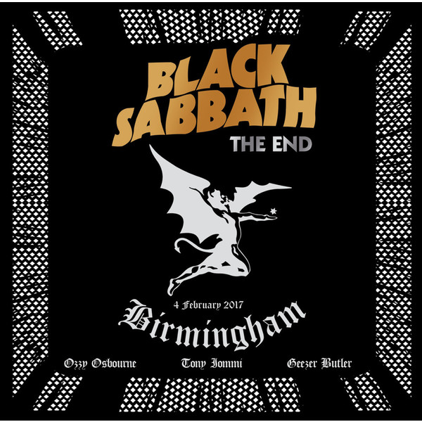Black Sabbath Black Sabbath - The End (3 LP) the black eyed peas the black eyed peas the beginning 2 lp