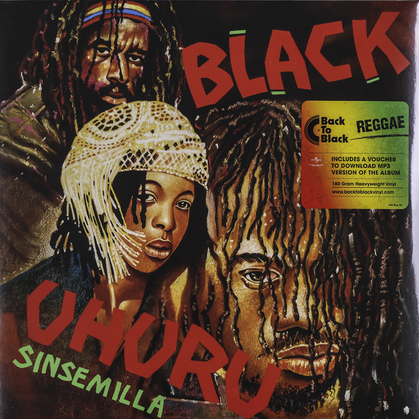 BLACK UHURU BLACK UHURU - SINSEMILLA (180 GR)