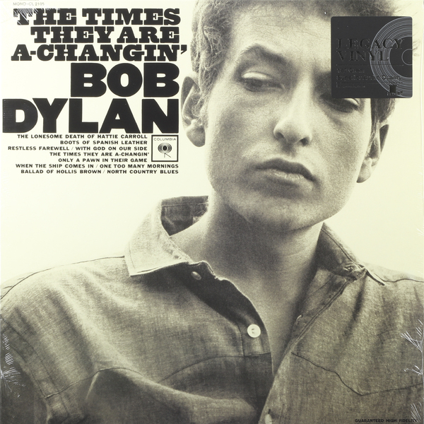Bob Dylan Bob Dylan - The Times They Are A-changin' bob dylan