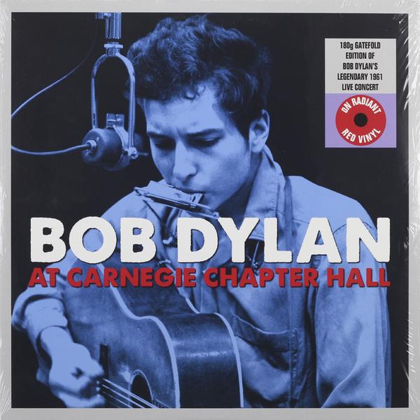 BOB DYLAN BOB DYLAN - AT CARNEGIE CHAPTER HALL (2 LP, 180 GR)Виниловая пластинка<br><br>