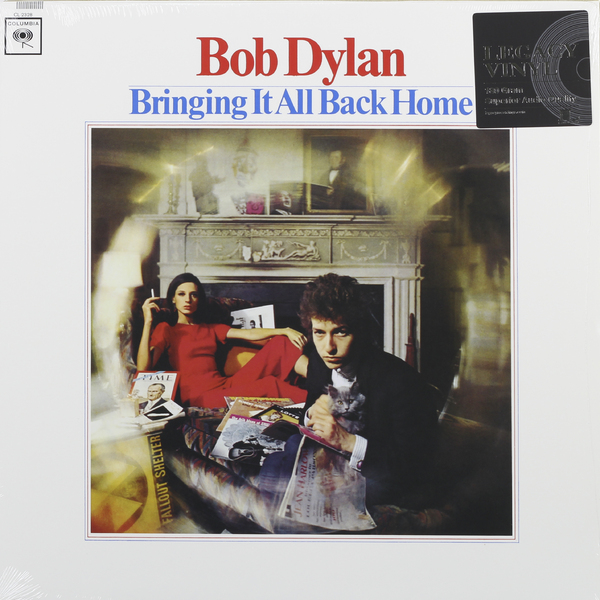 Bob Dylan Bob Dylan - Bringing It All Back Home (180 Gr) купить
