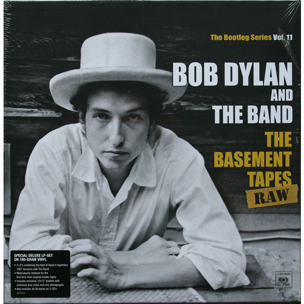 Bob Dylan Bob Dylan   The Band - The Basement Tapes Raw (3 Lp+2 Cd) купить
