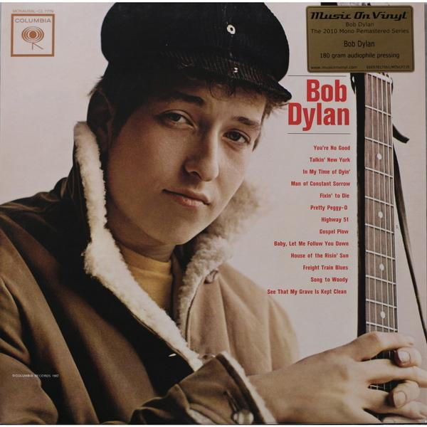 BOB DYLAN BOB DYLAN - BOB DYLAN (180 GR)