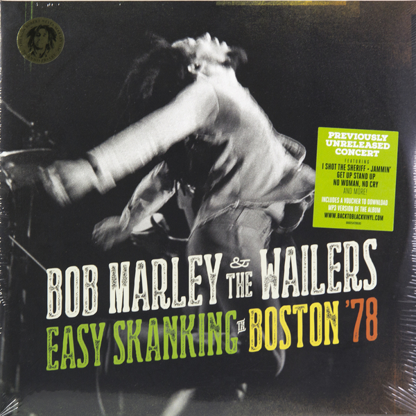 BOB MARLEY BOB MARLEY - EASY SKANKING IN BOSTON '78 (2 LP) david burnett bob marley