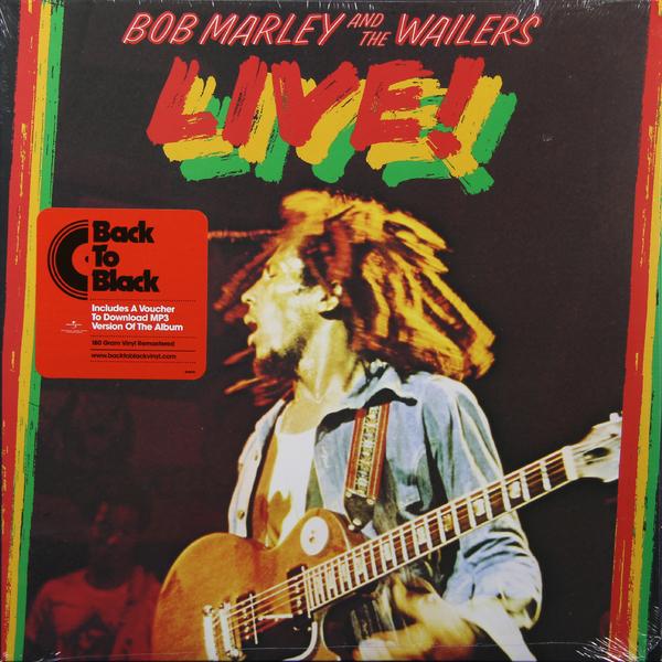 BOB MARLEY BOB MARLEY - LIVE! (180 GR) david burnett bob marley