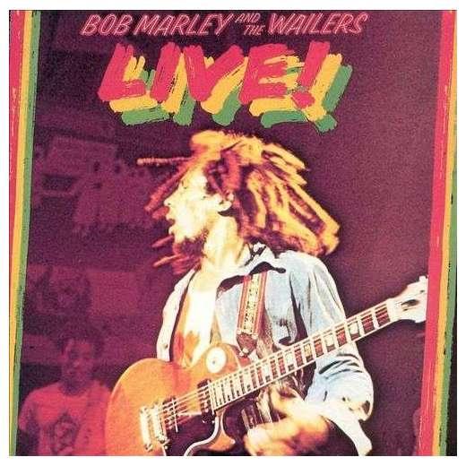 BOB MARLEY BOB MARLEY - LIVE! david burnett bob marley
