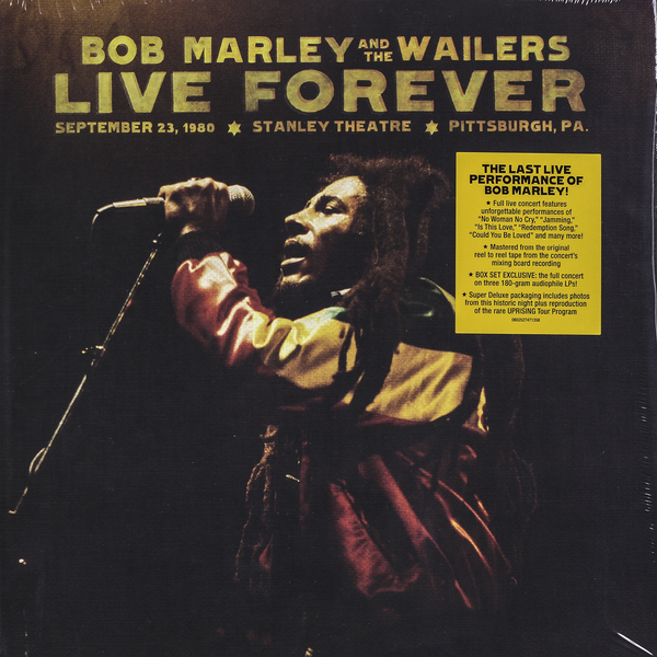 BOB MARLEY BOB MARLEY - LIVE FOREVER (BOX SET) david burnett bob marley