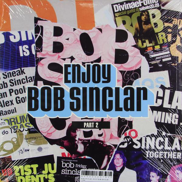 BOB SINCLAR BOB SINCLAR - ENJOY BOB SINCLAR (2 LP)