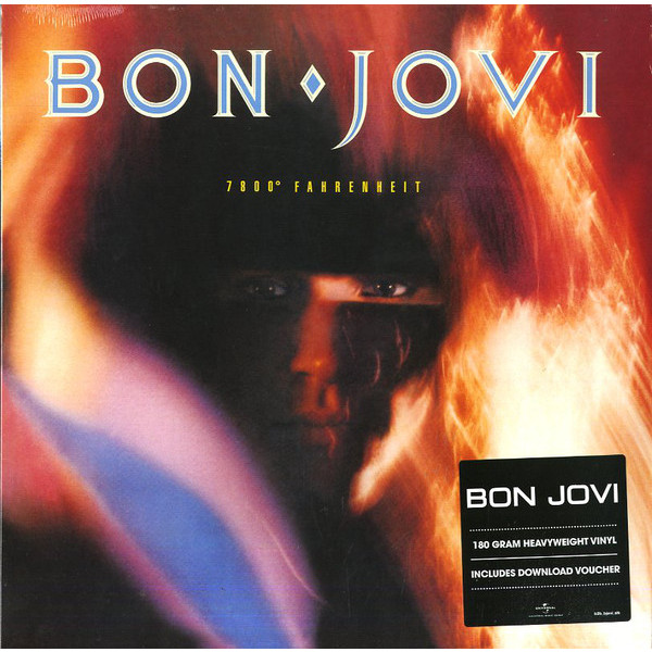 BON JOVI BON JOVI - 7800 FAHRENHEIT jon bon jovi destination anywhere