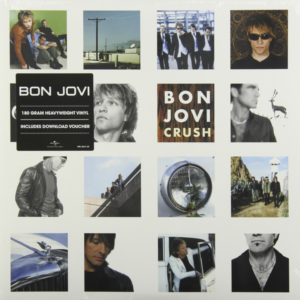 BON JOVI BON JOVI - CRUSH (2 LP, 180 GR) bon jovi what about now 2 lp