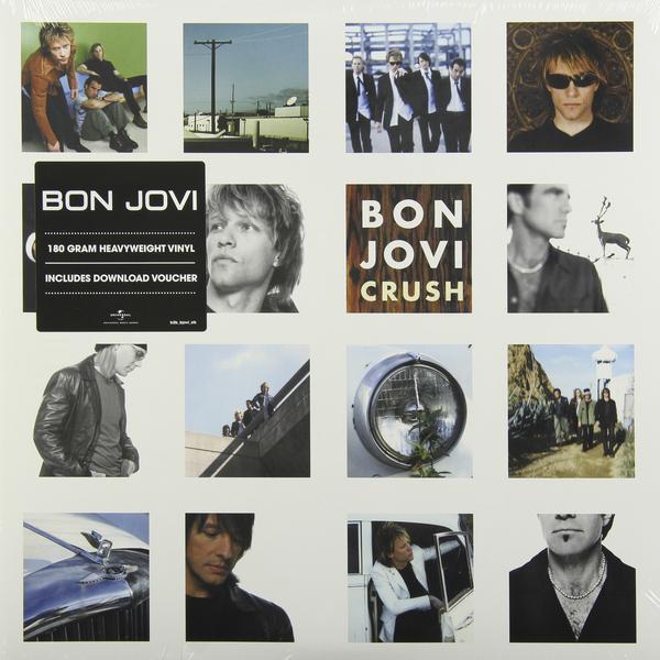 BON JOVI BON JOVI - CRUSH (2 LP, 180 GR) bon jovi new jersey 2 lp