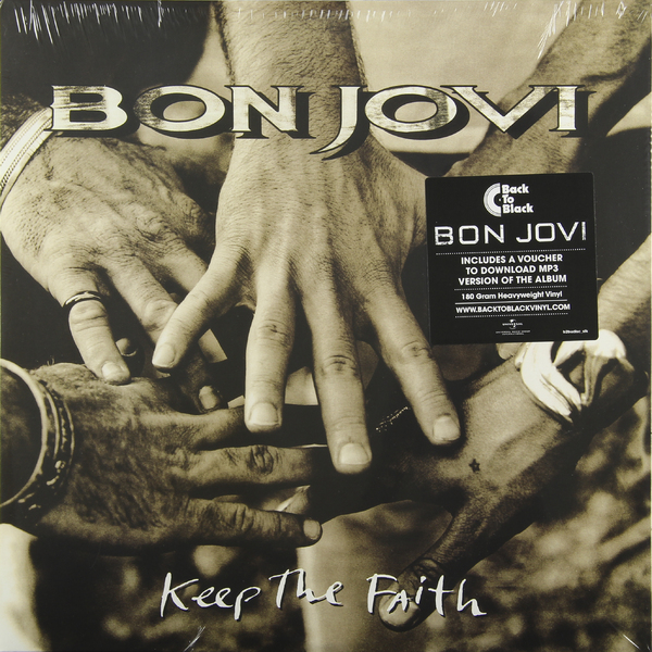 Bon Jovi Bon Jovi - Keep The Faith (2 Lp, 180 Gr) guano apes guano apes proud like a god 180 gr colour