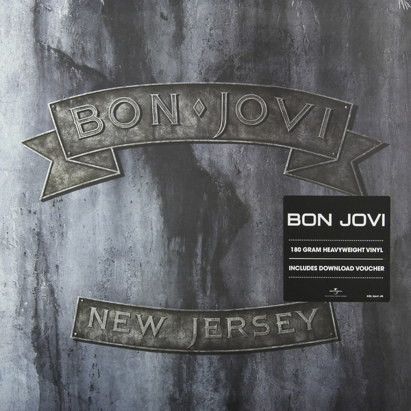 BON JOVI BON JOVI - NEW JERSEY (2 LP, 180 GR) jon bon jovi destination anywhere