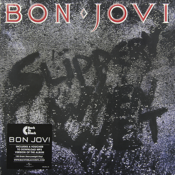 BON JOVI BON JOVI - SLIPPERY WHEN WET (180 GR) jon bon jovi destination anywhere