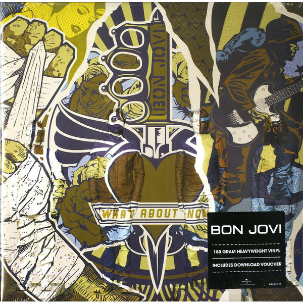 Bon Jovi Bon Jovi - What About Now (2 Lp, 180 Gr) guano apes guano apes proud like a god 180 gr colour