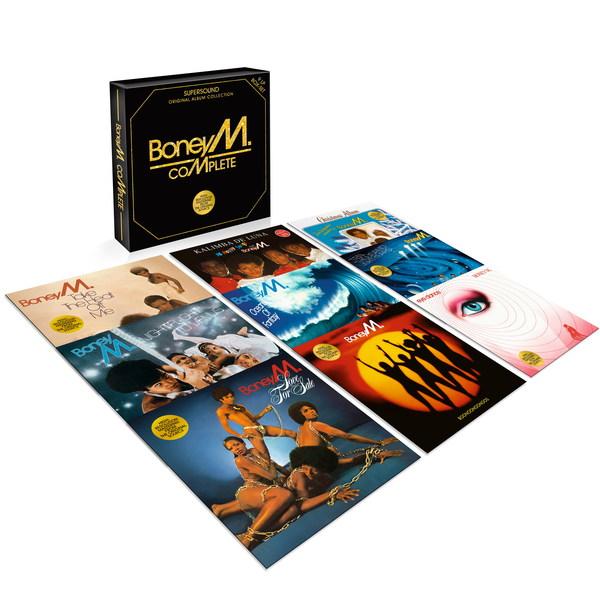 Boney M. Boney M. - Complete (9 LP) boney m – oceans of fantasy lp