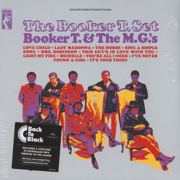 BOOKER T BOOKER T   THE MGS - THE BOOKER T. SETВиниловая пластинка<br><br>