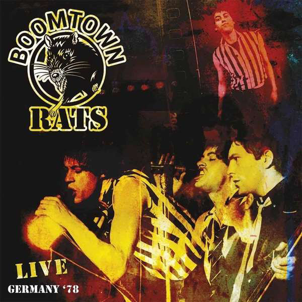 BOOMTOWN RATS BOOMTOWN RATS - LIVE IN GERMANY '78  фонарик send force germany 78