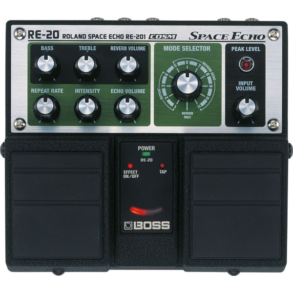 Гитарный процессор BOSS RE-20 вокальный процессор roland vp 03