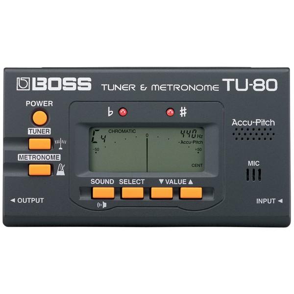 Гитарный тюнер BOSS TU-80
