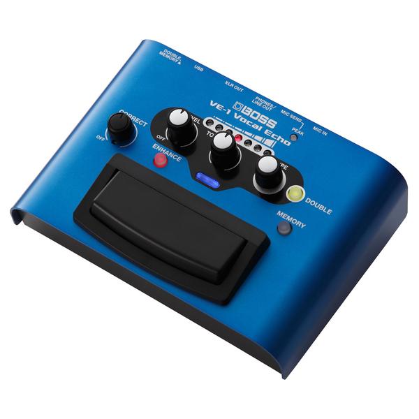 Вокальный процессор BOSS VE-1 вокальный процессор roland vp 03