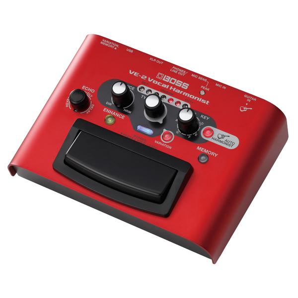 Вокальный процессор BOSS VE-2 вокальный процессор roland vp 03