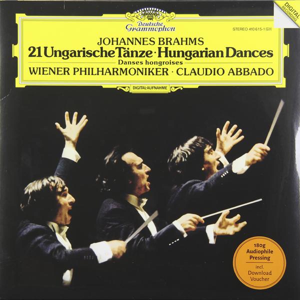 BRAHMS BRAHMS - 21 HUNGARIAN DANCES (180 GR)