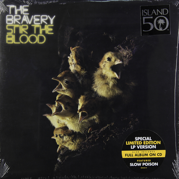 BRAVERY BRAVERY - STIR THE BLOOD (LP+CD)