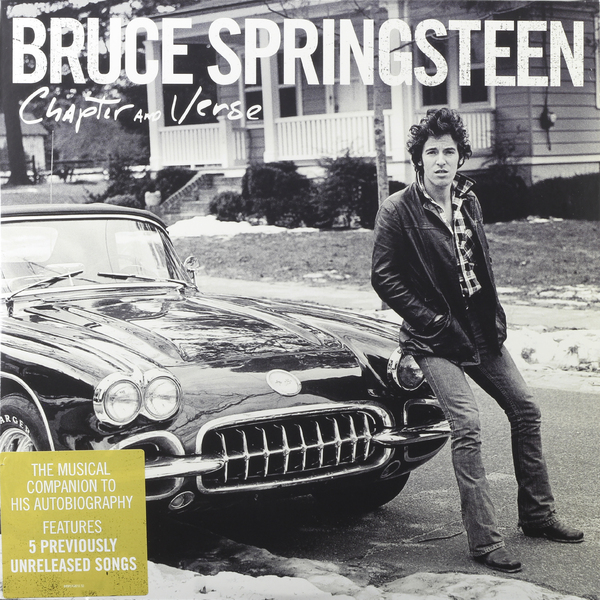 BRUCE SPRINGSTEEN BRUCE SPRINGSTEEN - CHAPTER AND VERSE (2 LP)