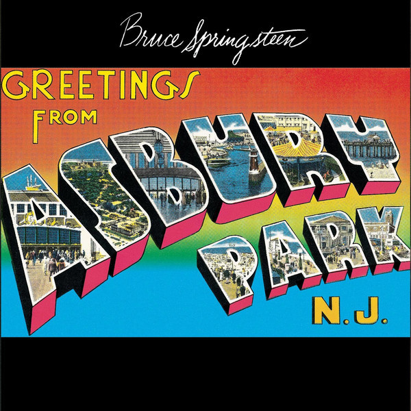 BRUCE SPRINGSTEEN BRUCE SPRINGSTEEN - GREETINGS FROM ASBURY PARK, N.J.