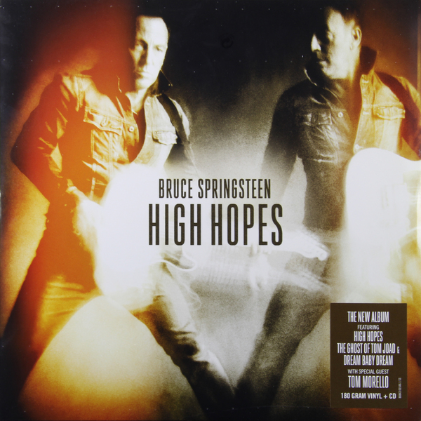 BRUCE SPRINGSTEEN BRUCE SPRINGSTEEN - HIGH HOPES (2 LP, 180 GR)