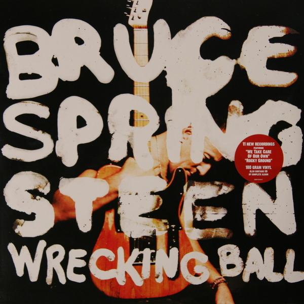 BRUCE SPRINGSTEEN BRUCE SPRINGSTEEN - WRECKING BALL (2 LP, 180 GR + CD)