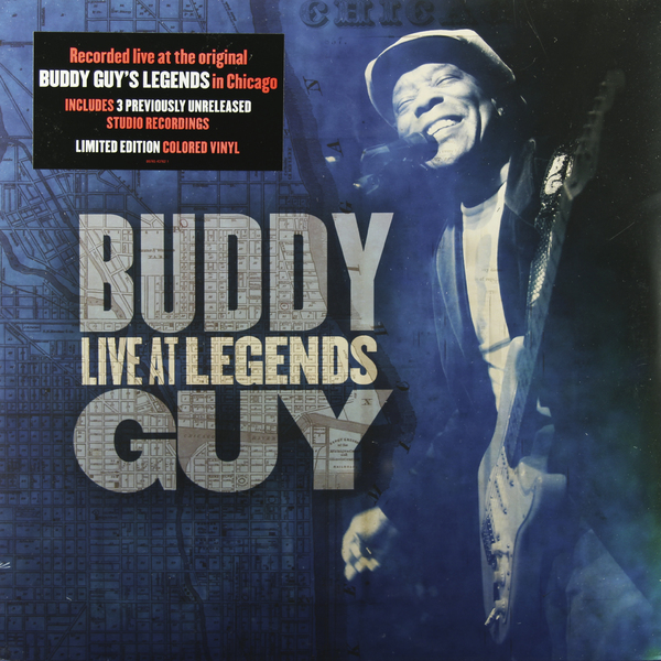 Buddy Guy Buddy Guy - Live At Legends (2 LP) стоимость