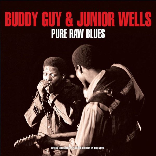 Buddy Guy Buddy Guy   Junior Wells - Pure Raw Blues (2 LP) стоимость