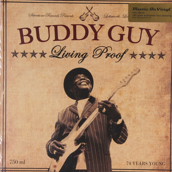 Buddy Guy Buddy Guy - Living Proof (2 Lp, 180 Gr) abba abbaagnetha faltskog agnetha faltskog vol 2 180 gr