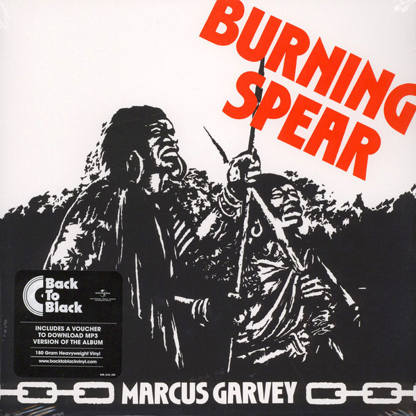 Burning Spear Burning Spear - Marcus Garvey b spear spear multimate tm user s guide pr only