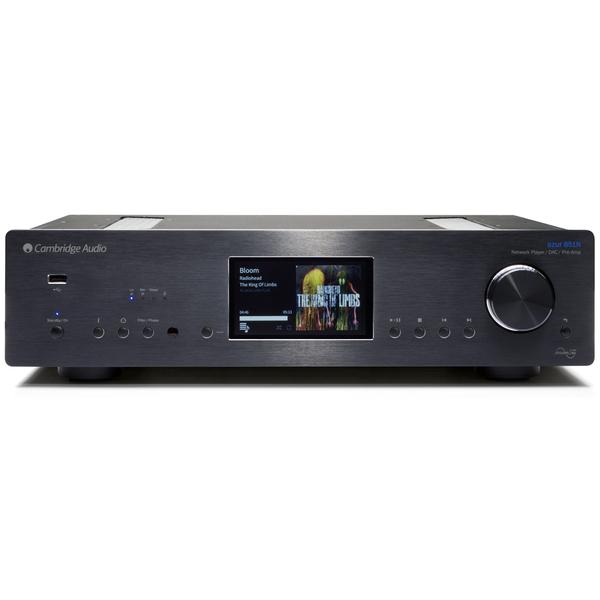 Сетевой проигрыватель Cambridge Audio Azur 851N Black стереоусилитель cambridge audio azur 851a silver